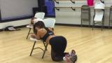Mackenzie Dern Chair Dance Routine