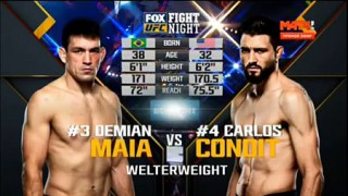 Carlos Condit vs Demian Maia – Watch the Fight